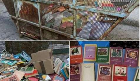 Школа из Београда побацала књиге у смеће јер су прљаве