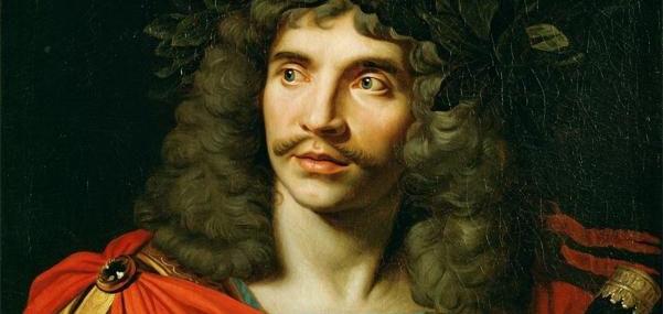 """Фото: """"Molière - Nicolas Mignard (1658)"""" аутор Nicolas Mignard - http://www.lessing-photo.com/dispimg.asp?i=26030249+&cr=3&cl=1. Под лиценцом Јавно власништво са сајта Викимедијина остава - https://commons.wikimedia.org/wiki/File:Moli%C3%A8re_-_Nicolas_Mi"""