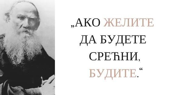 Lav Tolstoj o sreci
